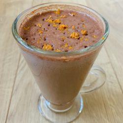Chocolate Tangerine Shake